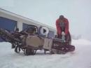 Motorrad und Schnee! - zwei Welten prallen aufeinander - Schinderei incl.