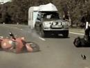 Motorrad Unfallverhütung -sehr eindrucksvoll gemacht! Runter mit dem Risiko