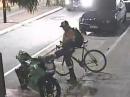 Motorrad Vandale: Mögen dem Drecksack die Füsse abfallen