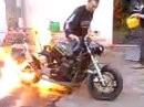 Motorrad Vergewaltigung - Brennender Burnout und burn, burn, burn