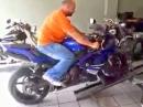 Motorrad verladen - GEILE Idee !!!