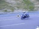 Motorrad Vollbremsung ohne ABS: Yamaha R6 von 220 km/h zum Stillstand