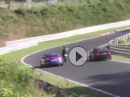 Motorrad Volldepp - Autos verhindern Crash - Nürburgring Nordschleife