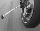 Motorrad Vorderachse verloren - Fake oder geht das ohne Crash?