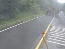 Motorrad vs Elefant - Da wird blitzschnell die Route umgeplant :-)