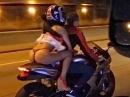 Motorrad vs String - super schmaler geiler Nierengurt :-)