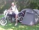 Motorrad Wecker: Der entsetzte Schrei beweist: Man ist schlagartig wach!