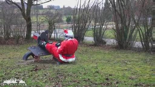 Bmw Motorrad Weihnachtsgrüße.Motorrad Weihnachts Action Der Film Weihnachten Ohne Baum Und
