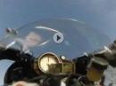 Motorrad Wheelie Crash bei 180 km/h BMW S1000RR dann dauerts und rutscht