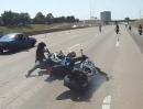 Motorrad Wheelie Crash: Geil, wenn der Schmerz nachläßt - Schürfing Compilation