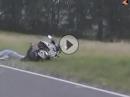 Motorrad Wheelie Crash: Nicht lachen, alle haben mal SO angefangen