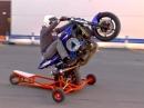 Motorrad Wheelie Trainingsgerät - Geile Idee von Stuntex