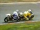 Motorrad WM 1988 Nürburgring 250ccm Mang und Bradl mit Interviews