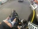 Motorrad Zusammenstoß: Ei isch hab dich nit gesehe ... Vollidiot