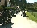 Motorradclub Silencer zu Besuch in Kärnten in Österreich.