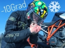 Motorradfahren bei -10Grad! Erfahrungsbericht von KurvenradiusTV