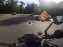 Alltagssituationen! Motorradfahren - gefährlich und schön.