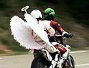 Motorradfahrer Tipps um auf der Straße zu überleben - Serge Nuques als Schutzengel - Geil!
