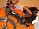 Motorradliebe - hoffentlich hat der Typ Kondome benutzt, gibt ein Russschwänzchen