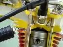 Motorradmotor Funktionsweise - wer findet den Fehler?