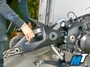 Motorradrahmen, Schwinge, Lager: Projekt Racebike, Suzuki GSX-R1000 - MotoTech