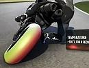 Motorradreifen Pirelli Diablo Superbike Rennslick in Monza - Reifenbelastung
