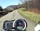 Motorradreise: Ballon d'Alsace, Vogesen, Frankreich mit Triumph Street Triple
