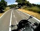 Motorradreise Sardinien - von Nuoro nach Bitti - Geile Strecke, 30km Kurvenspass