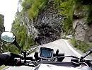 Torrente Enna, Taleggio, Motorradreise Lombardei, Italien