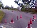 Motorradslalom Bretten 18.09.2011 Onboard