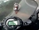 Motorradstraßen im Bergischen Land Yamaha Fz6 Fazer