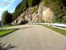 Motorradstrecke Schloss Eberstein von Gernsbach zur Nachtigall