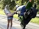 Motorradstunt. Compilation: Geile Stunts, super Schnitt und geile Mucke = Da passt alles!!