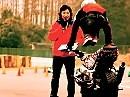Motorradstunt HIROYUKI OGAWA - moto Xtreme der kanns perfekt