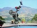 Motorradstunt Jorian Ponomareff - Worldtraining - Der Junge hats einfach drauf