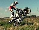 Motorradstunt - Martin Krátký Stuntrider - cooler Junge