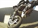 Motorradstunts mit Brest Stuntteam sehr cool mit genialer Kamera Perspektive