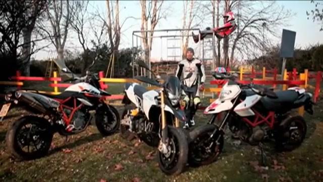 Aprilia Dorsoduro  Vs Ducati Hypermotard