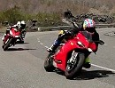 Motorradtest: Ducati 1199 Panigale vs BMW S1000RR vs Aprilia RSV4 APRC via MCN