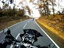 Motorradtour auf der B 274 durch den Taunus mit BMW GS