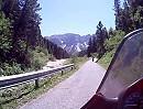 Motorradtour auf Nebenstrecke zum Würzjoch, Italien
