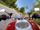 Motorradtour Bayrischer Wald mit Ducati Monster