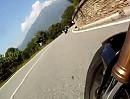 Motorradtour Borgofranco d'Ivrea , Piemont, Italien - Italiener jagen bei Schneckeschubsertour 2012