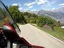 Motorradtour Col du Lein (Leinpass), Schweiz, Wallis