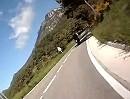 Motorradtour: Coll de la Mina, L 4241, zwischen Berga und Guixers, Katalonien, Pyrenäen