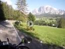 Motorradtour Dolos: Ein Tag aus dem Leben eines Motorradfahrer in den Dolomiten