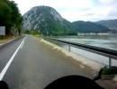 Motorradtour 'Dunavska Magistrale' (Serbien) zwischen Tekija und Golubinje