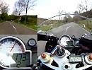 Motorrad Eifel heizen mit BMW S1000RR Mulartshütte Zweifall Raffelsbrand