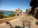 Motorradtour Französischen Alpen. - Ups Szenen mit Yamaha xt1200