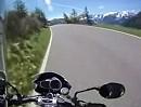Gavia Pass / Passo di Gavia (Italien) Südrampe von Ponte di Legno